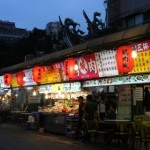 気軽に海鮮食べるなら…遼寧街夜市