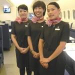 フライトアテンダント風ウェイトレスに萌えっ「A380 空中厨房」