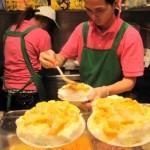果肉ゴロゴロのマンゴーアイスは5-10月限定!! 「龍都冰菓」