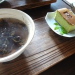 湖のほとりのお茶レストラン「珍珠茶屋」で和みのティータイム