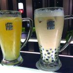 ボリューミーな鍋物とお茶 パールミルクで有名なチェーン