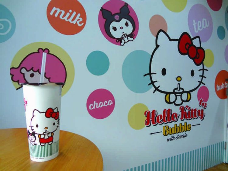 Hello Kitty Bubble