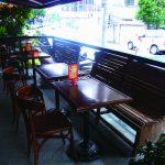 永康街の喧騒から離れた 静かなカフェでコーヒーを