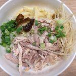 吉野屋ちっくな鶏肉飯屋に入ってみた。(肉伯火鶏肉飯 in 台北)