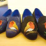 普段使いにもハナマルっ! かわいいチャイナな刺繍靴|小花園(大稲埕店)