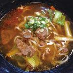 独特の太麺がいける地元で愛される牛肉麺|寶島牛牛肉麺