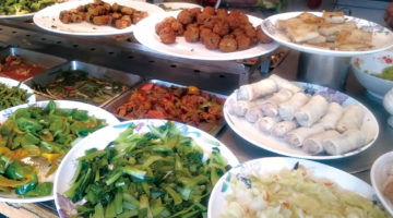 やさしい味のビュッフェ式ベジタリアン料理|如來素食樂園
